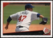 2009 Topps Francisco Liriano Baseball Card