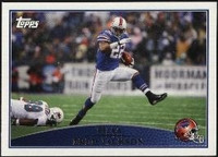 2009 Topps Fred Jackson NFL Football Card