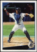 2009 Topps Gerald Laird Tigers Baseball Card