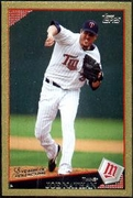 2009 Topps Gold Border Joe Nathan Baseball Card