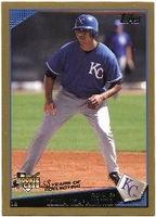 2009 Topps Gold Border Kila Ka'aihue Baseball Card
