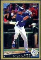 2009 Topps Gold Border Mike Jacobs Baseball Card