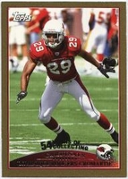 2009 Topps Gold Dominique Rodgers-Cromartie NFL Football Card
