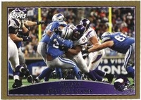 2009 Topps Gold Pat Williams NFL Football Card