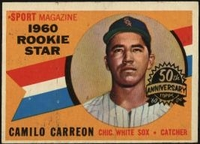 2009 Topps Heritage 1960 Buybacks Camilo Carreon RS Rookie Baseball Card