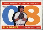 2009 Topps Heritage Billy Wagner All-Star Baseball Card