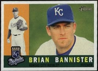2009 Topps Heritage Brian Bannister Baseball Card