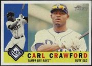2009 Topps Heritage Carl Crawford Baseball Card