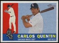 2009 Topps Heritage Carlos Quentin Baseball Card
