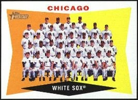 2009 Topps Heritage Chicago White Sox Team Baseball Card