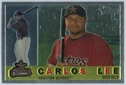 2009 Topps Heritage Chrome Carlos Lee Baseball Card