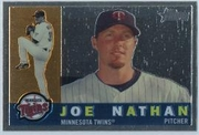 2009 Topps Heritage Chrome Joe Nathan Baseball Card