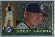 2009 Topps Heritage Chrome Scott Kazmir Baseball Card