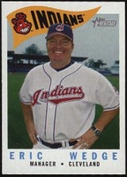 2009 Topps Heritage Eric Wedge Manager Baseball Card