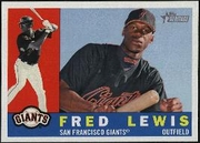 2009 Topps Heritage Fred Lewis Baseball Card