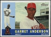2009 Topps Heritage Garret Anderson Baseball Card