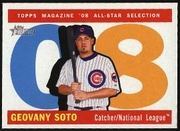 2009 Topps Heritage Geovany Soto All-Star Baseball Card