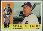 2009 Topps Heritage Gerald Laird Baseball Card