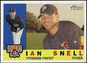 2009 Topps Heritage Ian Snell Baseball Card