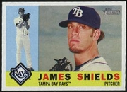 2009 Topps Heritage James Shields Baseball Card