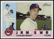 2009 Topps Heritage Jeremy Sowers Baseball Card