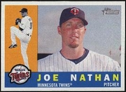 2009 Topps Heritage Joe Nathan Baseball Card