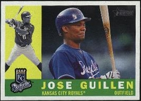 2009 Topps Heritage Jose Guillen Baseball Card