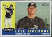 2009 Topps Heritage Lyle Overbay Baseball Card