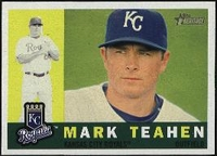 2009 Topps Heritage Mark Teahen Baseball Card