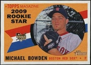 2009 Topps Heritage Michael Bowden Baseball Card