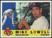 2009 Topps Heritage Mike Lowell Baseball Card