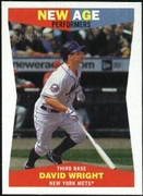 2009 Topps Heritage New Age Performers David Wright Baseball Card