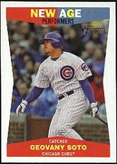 2009 Topps Heritage New Age Performers Geovany Soto Baseball Card