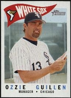 2009 Topps Heritage Ozzie Guillen Manager Baseball Card
