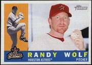 2009 Topps Heritage Randy Wolf Baseball Card
