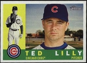 2009 Topps Heritage Ted Lilly Baseball Card