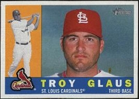 2009 Topps Heritage Troy Glaus Baseball Card