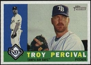 2009 Topps Heritage Troy Percival Baseball Card