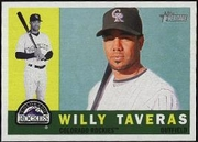 2009 Topps Heritage Willy Taveras Baseball Card