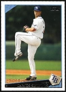 2009 Topps James Shields Baseball Card