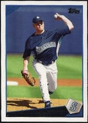 2009 Topps Jarrod Washburn Baseball Card
