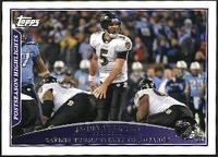 2009 Topps Joe Flacco Postseason Highlights NFL Football Card