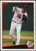 2009 Topps Joe Nathan Baseball Card