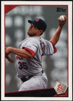 2009 Topps Joel Pineiro Baseball Card