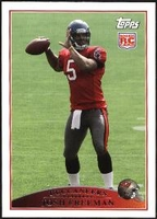 2009 Topps Josh Freeman Rookie NFL Football Card