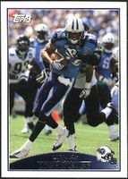 2009 Topps Justin Gage NFL Football Card