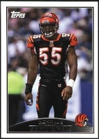 2009 Topps Keith Rivers NFL Football Card