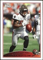 2009 Topps Kellen Winslow Jr. NFL Football Card