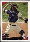 2009 Topps Kelly Shoppach Baseball Card
