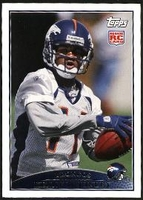 2009 Topps Kenny McKinley Rookie NFL Football Card